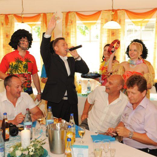 Hochzeitsspiele, Kostueme, brautschuh stehlen, russische Zigeuner, Moderator Tamada bayern bilder 01