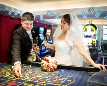 deutsch-russische Hochzeitspaar