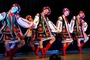 Russische Tanzgruppe